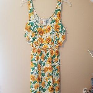 American Rag sunflower summer dress